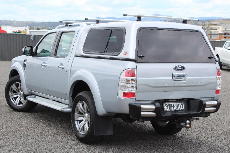 2011 Ford Ranger PK Wildtrak Utility dual cab (With